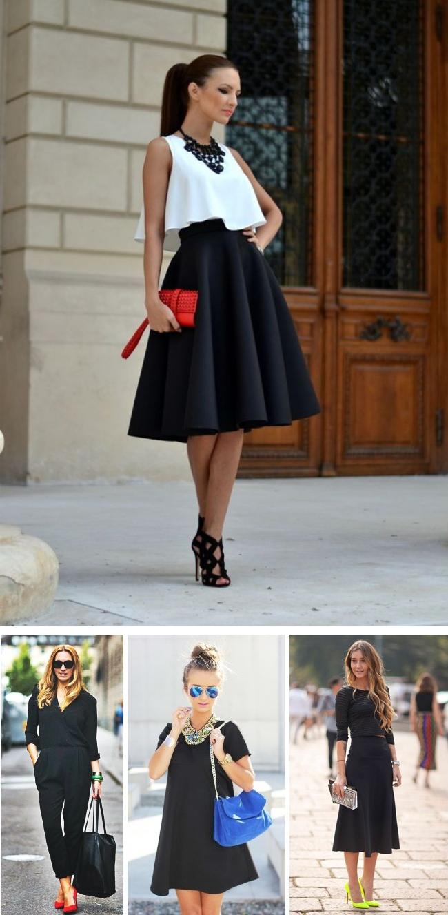 12 mẹo đơn giản đến bất ngờ giúp chị em biến bộ trang phục đen đơn điệu trở nên hút mắt hơn bao giờ hết - Ảnh 1.