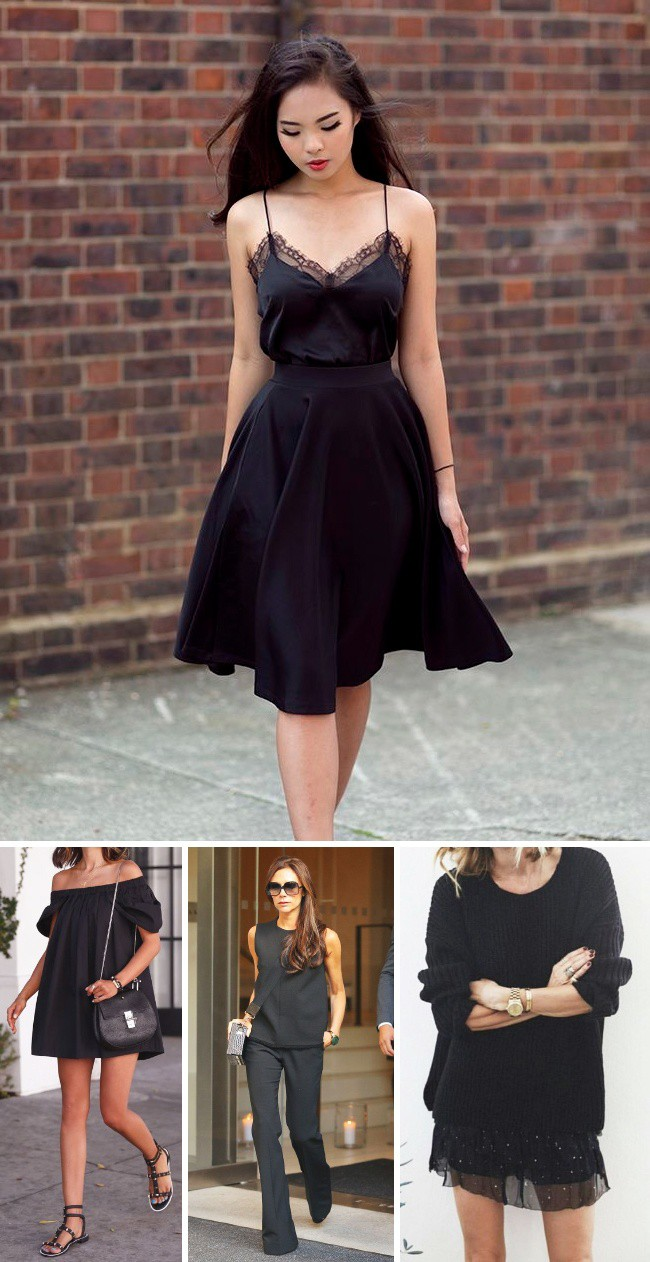 12 mẹo đơn giản đến bất ngờ giúp chị em biến bộ trang phục đen đơn điệu trở nên hút mắt hơn bao giờ hết - Ảnh 2.