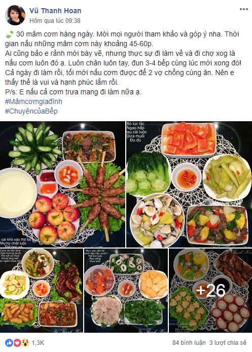 Cô gái 9x chia sẻ 30 mâm cơm tự nấu vừa ngon vừa đẹp ai cũng thích mê - Ảnh 1.