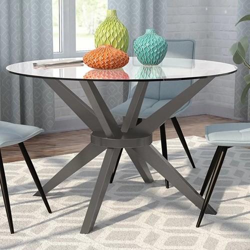 Những mẫu bàn tròn tiết kiệm không gian - Ảnh 7.