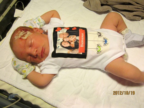 Bác sĩ rạch trúng đầu em bé trong ca sinh mổ, không xin lỗi còn nói rằng không nghiêm trọng - Ảnh 5.