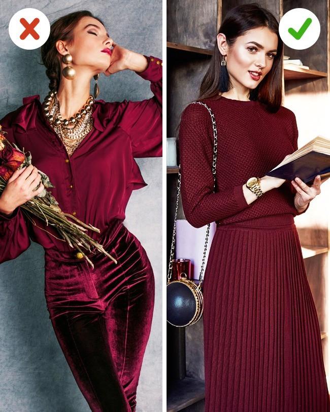 7 kiểu phục trang mà nhiều chị em vẫn luôn ưa chuộng, nhưng kỳ thực có thể biến họ thành người kém duyên - Ảnh 3.