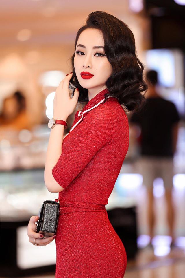 Mặc váy đầm lộng lẫy thôi là chưa đủ, phải trang điểm đẹp, chọn son môi xuyệt tông nhưng Angela Phương Trinh mới hoàn hảo - Ảnh 4.