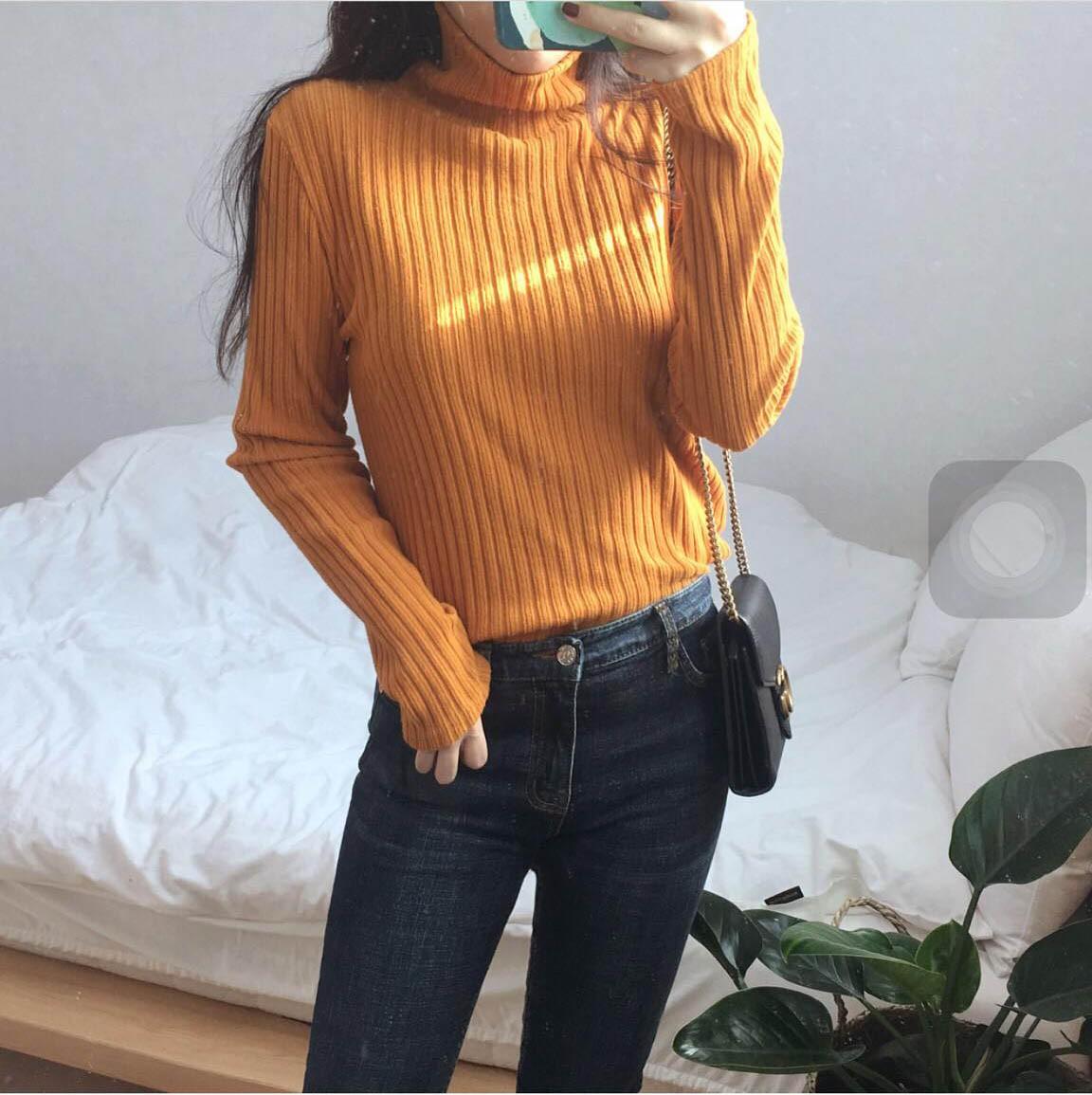Thời trang Hàn Quốc - Style tone vàng cực chất