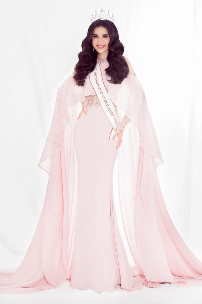 Chân dung người đẹp sẽ kế vị Hoa hậu Đại Dương khi Lê Âu Ngân Anh bị tước vương miện - Ảnh 6.