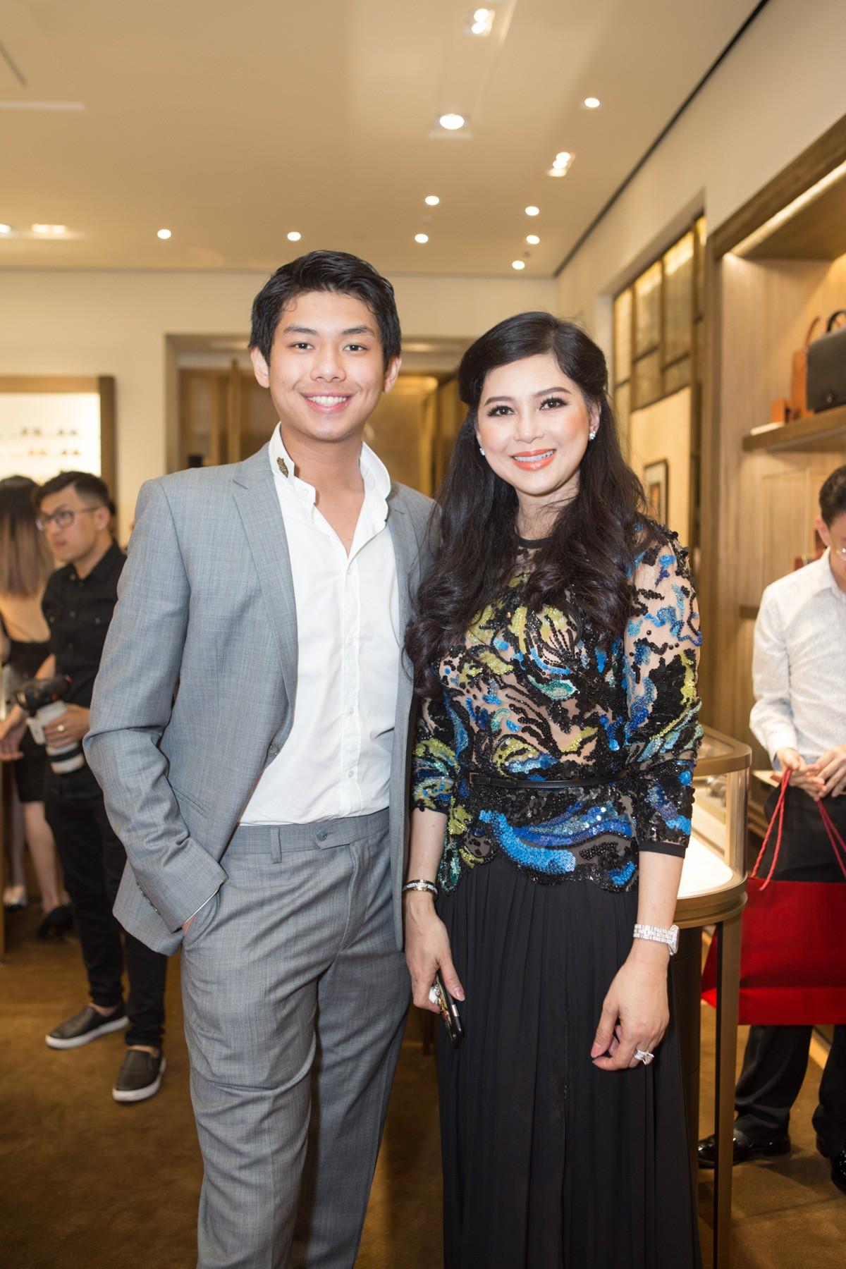Sau Thảo Tiên, cậu út nhà chồng Tăng Thanh Hà cũng đang gây sốt trong