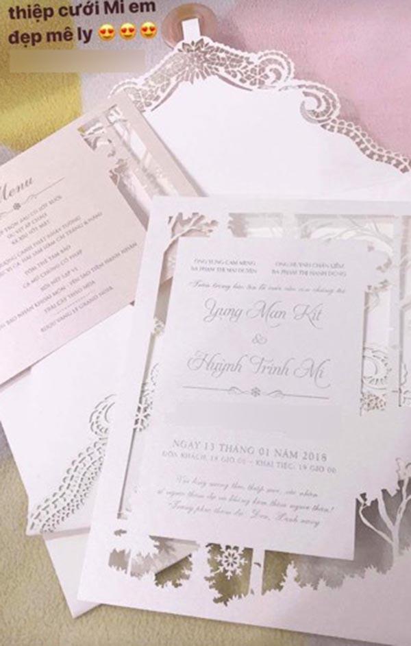 Huỳnh Mi - em gái Trấn Thành vừa lên xe hoa, anh trai trực tiếp làm MC trong đám cưới hoành tráng - Ảnh 2.