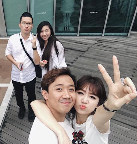 Huỳnh Mi - em gái Trấn Thành vừa lên xe hoa, anh trai trực tiếp làm MC trong đám cưới hoành tráng - Ảnh 12.