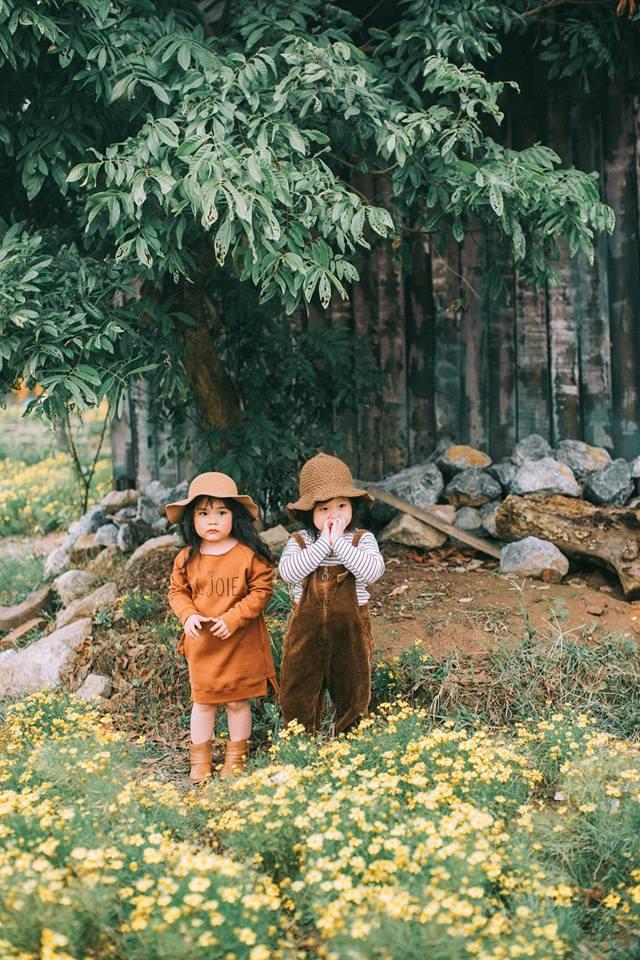 Bộ ba bạn thân Mầm - Mũm - Mon xuất hiện siêu yêu trong bộ ảnh chụp trên cánh đồng hoa cải - Ảnh 18.
