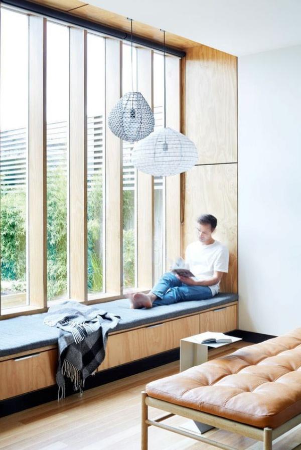 Góc đọc sách bên cửa sổ đẹp lãng mạn cho những ngày gió lạnh - Ảnh 10.