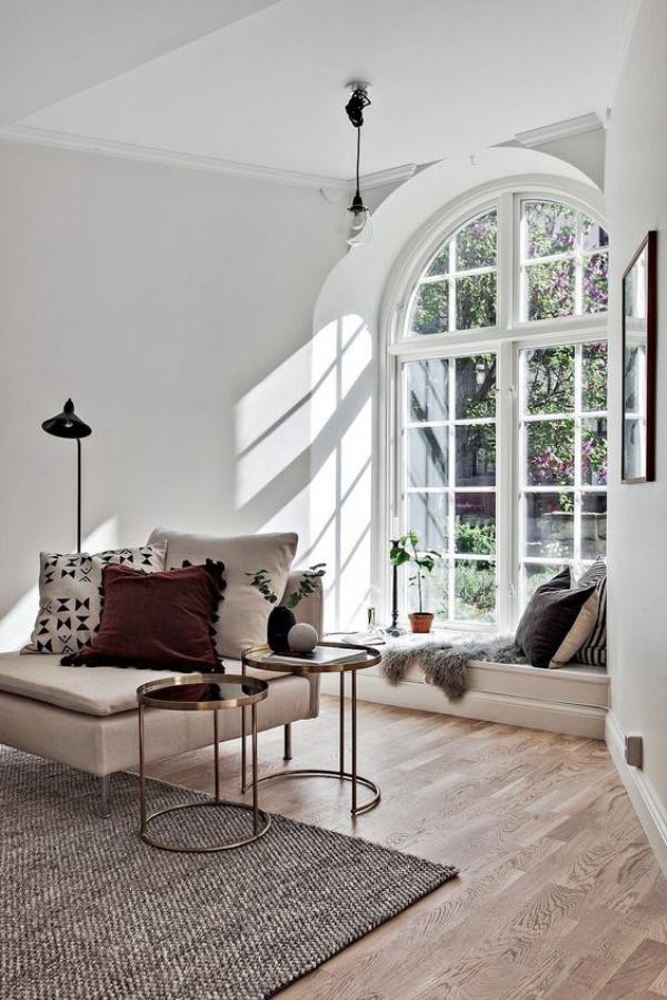 Góc đọc sách bên cửa sổ đẹp lãng mạn cho những ngày gió lạnh - Ảnh 11.