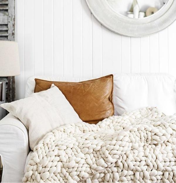Những ý tưởng trang trí nhà bằng len cho không gian sống mùa đông vừa đẹp vừa ấm - Ảnh 6.