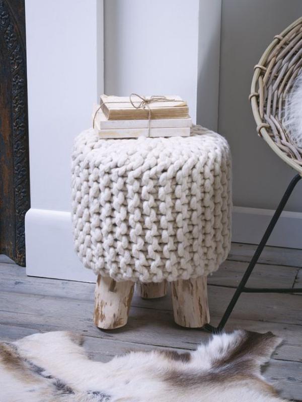 Những ý tưởng trang trí nhà bằng len cho không gian sống mùa đông vừa đẹp vừa ấm - Ảnh 10.
