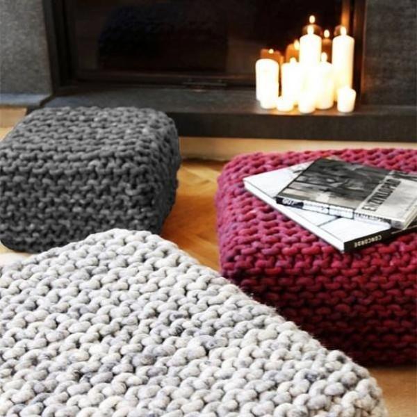 Những ý tưởng trang trí nhà bằng len cho không gian sống mùa đông vừa đẹp vừa ấm - Ảnh 14.