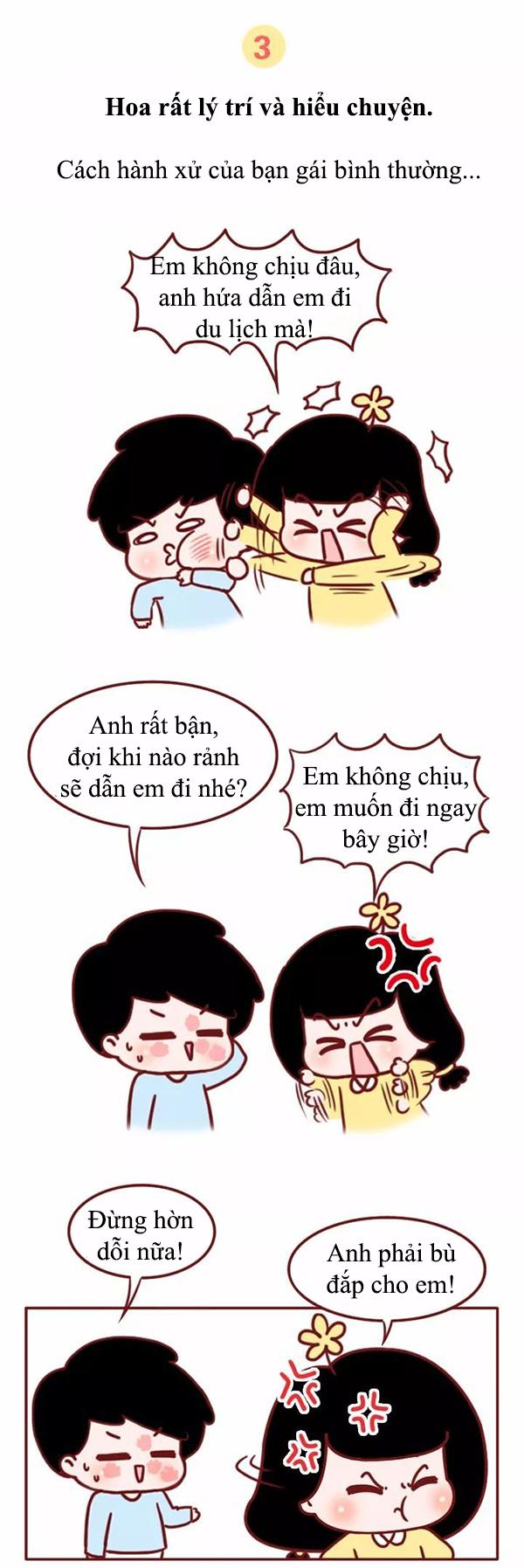 Truyện tranh: Đàn ông hãy coi chừng nếu đang yêu một cô gái quá hiểu chuyện - Ảnh 4.
