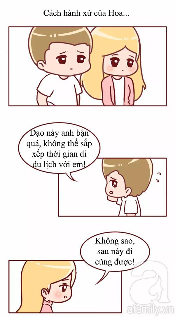 Truyện tranh: Đàn ông hãy coi chừng nếu đang yêu một cô gái quá hiểu chuyện - Ảnh 5.