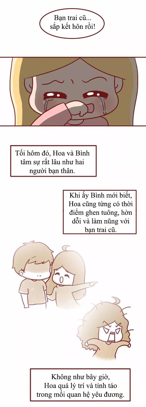 Truyện tranh: Đàn ông hãy coi chừng nếu đang yêu một cô gái quá hiểu chuyện - Ảnh 10.