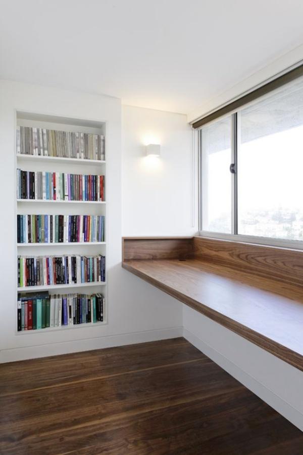 Những cách tận dụng không gian cửa sổ để tạo góc làm việc thoải mái cho nhà hẹp - Ảnh 10.