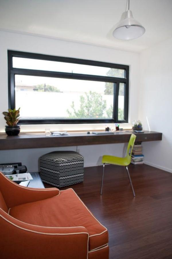 Những cách tận dụng không gian cửa sổ để tạo góc làm việc thoải mái cho nhà hẹp - Ảnh 11.