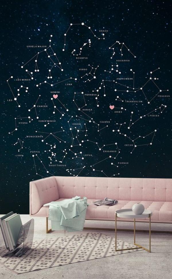 Ý tưởng thú vị trang trí nhà với những chòm sao siêu xinh và ấn tượng - Ảnh 2.