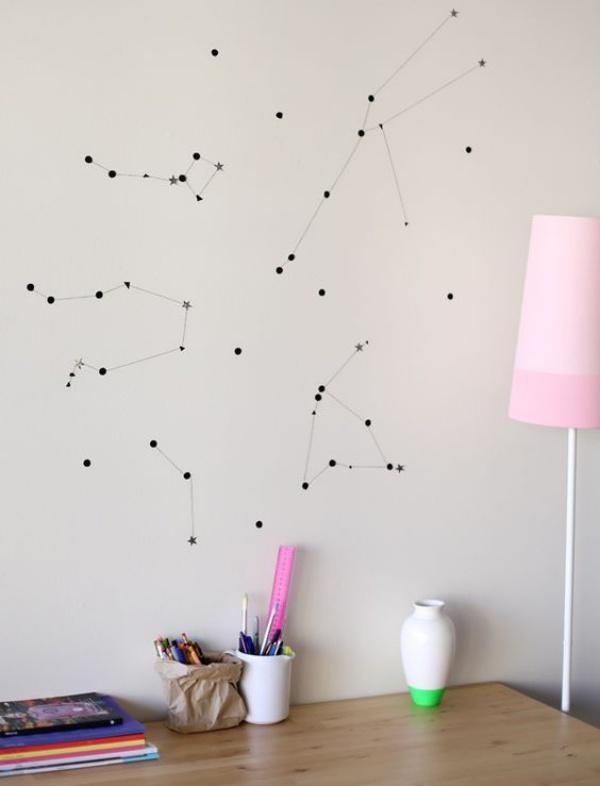 Ý tưởng thú vị trang trí nhà với những chòm sao siêu xinh và ấn tượng - Ảnh 9.