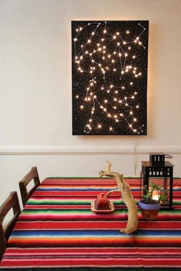 Ý tưởng thú vị trang trí nhà với những chòm sao siêu xinh và ấn tượng - Ảnh 12.
