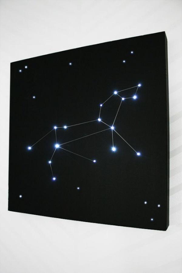 Ý tưởng thú vị trang trí nhà với những chòm sao siêu xinh và ấn tượng - Ảnh 13.