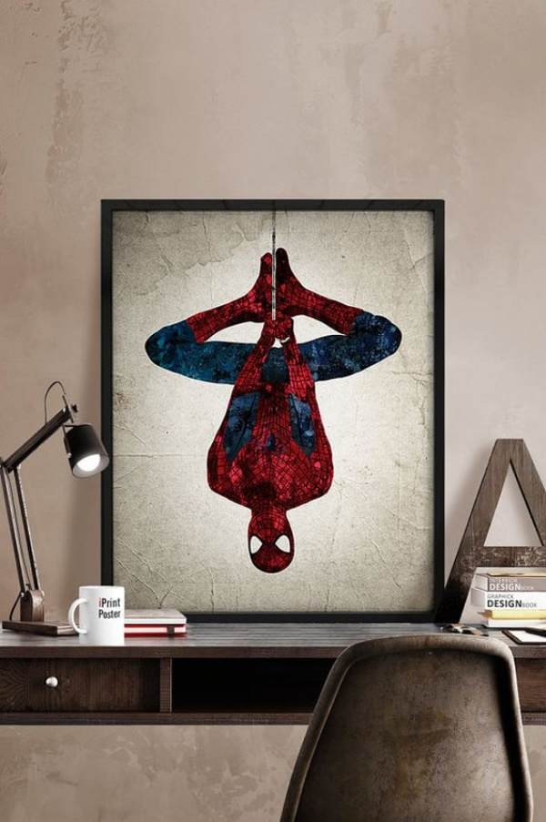 Không gian phòng ngủ bé trai thêm ấn tượng với cảm hứng trang trí từ Spiderman - Ảnh 2.