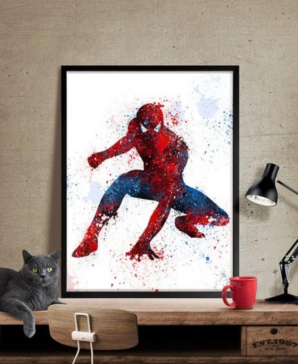 Không gian phòng ngủ bé trai thêm ấn tượng với cảm hứng trang trí từ Spiderman - Ảnh 5.