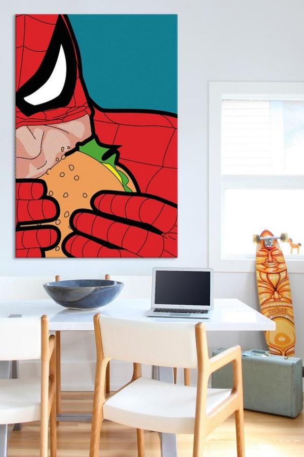 Không gian phòng ngủ bé trai thêm ấn tượng với cảm hứng trang trí từ Spiderman - Ảnh 6.