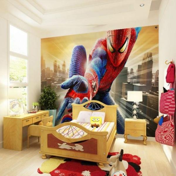Không gian phòng ngủ bé trai thêm ấn tượng với cảm hứng trang trí từ Spiderman - Ảnh 7.