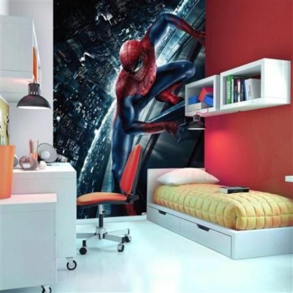 Không gian phòng ngủ bé trai thêm ấn tượng với cảm hứng trang trí từ Spiderman - Ảnh 8.