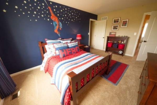 Không gian phòng ngủ bé trai thêm ấn tượng với cảm hứng trang trí từ Spiderman - Ảnh 9.