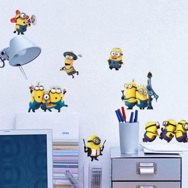 Phòng bé vui nhộn với những ý tưởng làm đẹp phòng từ Minions siêu đáng yêu và thú vị - Ảnh 3.