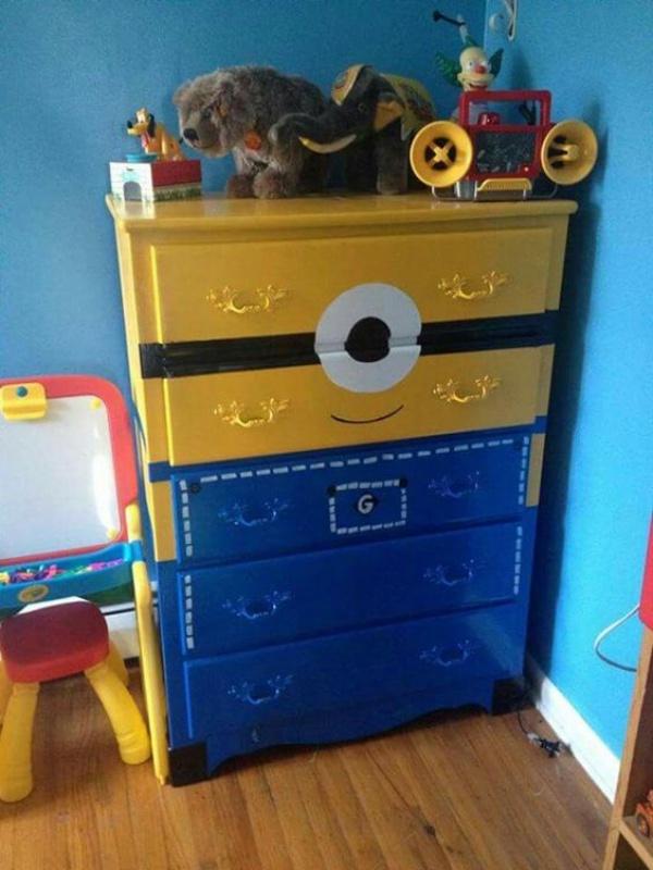 Phòng bé vui nhộn với những ý tưởng làm đẹp phòng từ Minions siêu đáng yêu và thú vị - Ảnh 8.