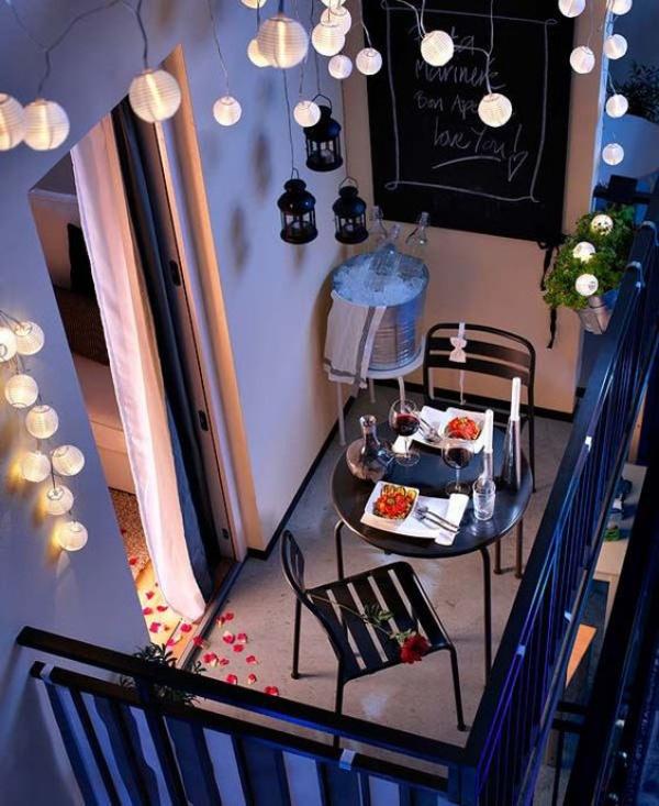 Ban công lung linh, đẹp lãng mạn về đêm với vô vàn ý tưởng thú vị làm đẹp bằng ánh sáng - Ảnh 7.
