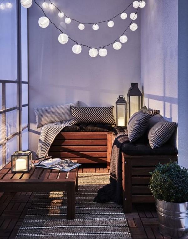 Ban công lung linh, đẹp lãng mạn về đêm với vô vàn ý tưởng thú vị làm đẹp bằng ánh sáng - Ảnh 8.