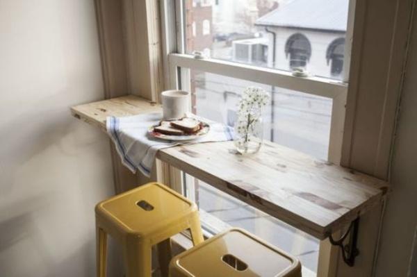 Những góc ăn sáng nhỏ xinh trong căn bếp hẹp - ảnh 2