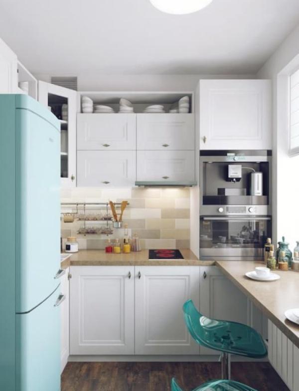 Những góc ăn sáng nhỏ xinh trong căn bếp hẹp - ảnh 4