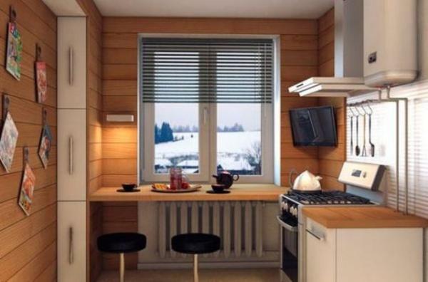 Những góc ăn sáng nhỏ xinh trong căn bếp hẹp - ảnh 5