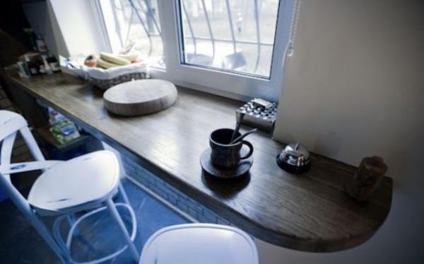 Những góc ăn sáng nhỏ xinh trong căn bếp hẹp - ảnh 6