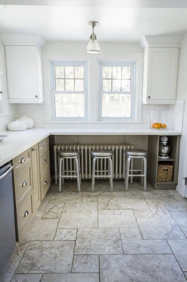 Những góc ăn sáng nhỏ xinh trong căn bếp hẹp - ảnh 8