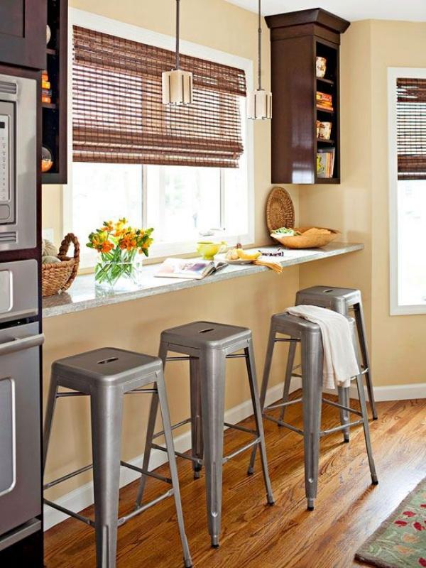 Những góc ăn sáng nhỏ xinh trong căn bếp hẹp - ảnh 9