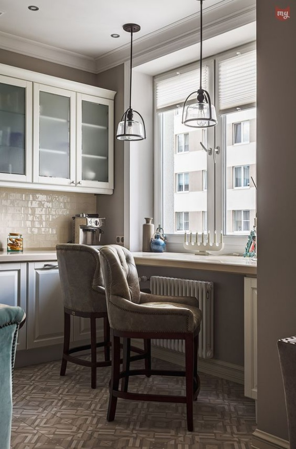 Những góc ăn sáng nhỏ xinh trong căn bếp hẹp - ảnh 10