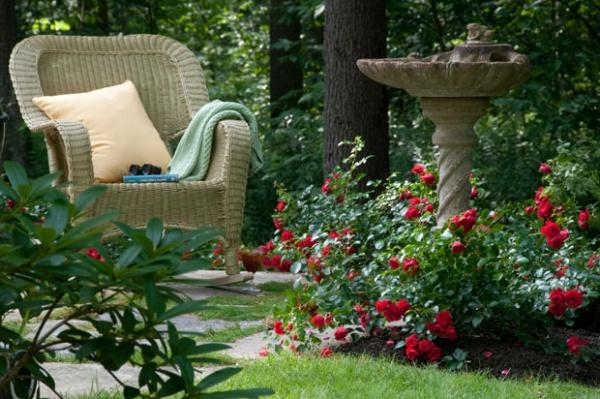 Rộn ràng hương sắc xuân trong sân vườn nhờ những ý tưởng làm đẹp sáng tạo - Ảnh 5.