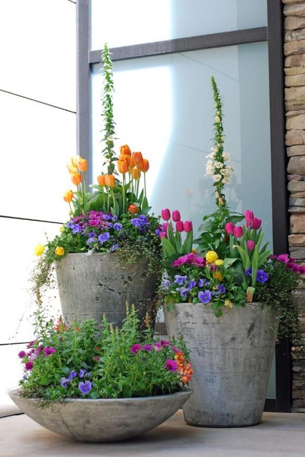 Rộn ràng hương sắc xuân trong sân vườn nhờ những ý tưởng làm đẹp sáng tạo - Ảnh 10.