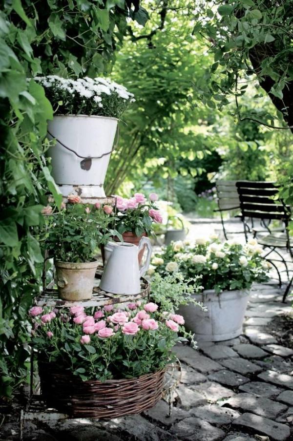 Rộn ràng hương sắc xuân trong sân vườn nhờ những ý tưởng làm đẹp sáng tạo - Ảnh 12.