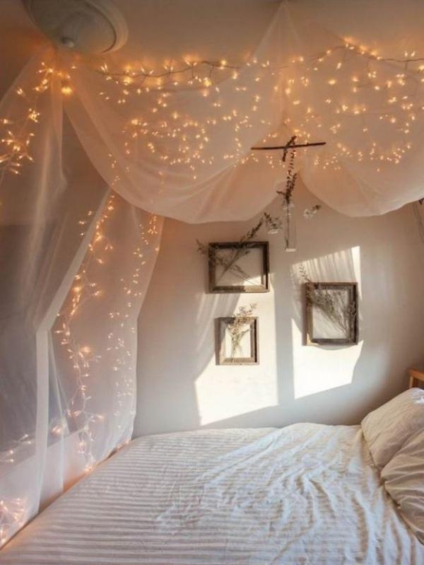 Phòng ngủ đẹp lãng mạn như resort sang chảnh nhờ ý tưởng deco bằng đèn Led - Ảnh 10.