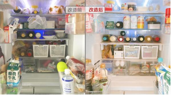 """Tủ lạnh sau Tết """"ngồn ngộn"""" đồ ăn, đây là cách người vợ trẻ ở Nhật sắp xếp giúp không gian lưu trữ tăng gấp đôi - Ảnh 2."""