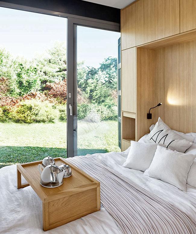 Ngôi nhà sinh thái bằng gỗ thân thiện với môi trường được hoàn thiện chỉ trong 1 tháng   - Ảnh 4.